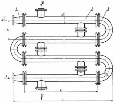Теплообменник трубчатый скоростной alfa laval ach 500eq 90h f